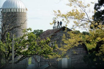 Watch the process, as we fix up our barn to start dairy farming...
